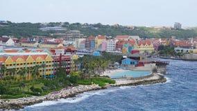 Rif Fort en Willemstad, Curaçao imagen de archivo libre de regalías