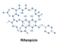 Rifampicin antibiotic for bacterial infections Royalty Free Stock Photography