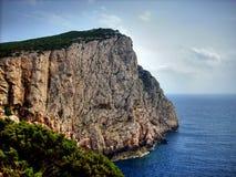 Riff auf Sardinien lizenzfreie stockbilder