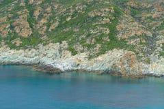 Riff bak havet arkivbild