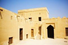 Riffa fort, Bahrain Arkivfoto