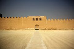 Riffa Fort, Bahrain Royalty Free Stock Photo
