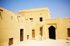 Riffa Fort, Bahrain Stock Photo