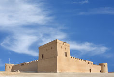 Riffa Fort, Bahrain from south Stock Image