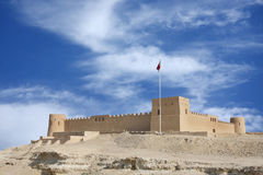 Riffa fort from the direction of Hunanaiya valley Stock Images