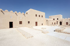 Riffa Fort, Kingdom of Bahrain Royalty Free Stock Images