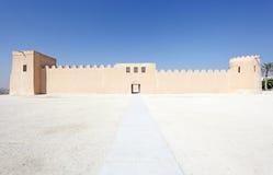 Riffa fort, kungarike av Bahrain Arkivfoton