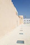 Riffa fort, kungarike av Bahrain Arkivbild