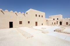 Riffa fort, kungarike av Bahrain Royaltyfria Bilder