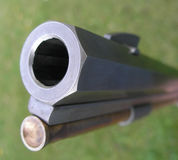 Riffle barrel Stock Photo