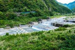 Riffles in alpi giapponesi Fotografia Stock