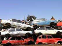 Rifiuti dell'automobile Fotografie Stock Libere da Diritti