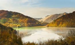Rifiuto tossico vicino a Rosia Montana Fotografie Stock Libere da Diritti