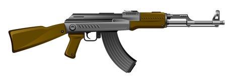 Rifle ak-47 do Kalashnikov Fotos de Stock