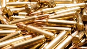 Rifle ammo background Stock Image