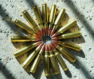 Rifle ammunition 009 Stock Image
