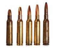 Rifle ammunition Stock Photography