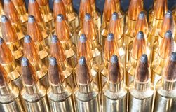 Rifle Ammunition Royalty Free Stock Photography