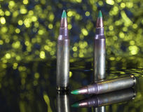 Rifle ammunition Stock Images