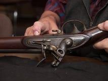 Rifle antiguo imagen de archivo libre de regalías