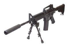Rifle with bipod Stock Photo