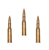 Rifle bullet Stock Images