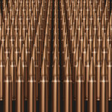 Rifle Bullets background Stock Photography