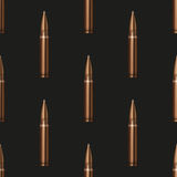 Rifle Bullets pattern background Stock Photography