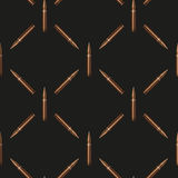 Rifle Bullets pattern background Royalty Free Stock Photography