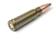 Rifle cartridge Royalty Free Stock Photography