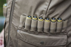 Rifle cartridges Royalty Free Stock Image