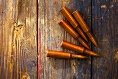 Rifle cartridges Royalty Free Stock Photography