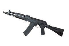 Rifle de AK (AK105) aislado en blanco Fotos de archivo