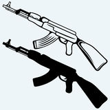 Rifle de asalto ak47 Foto de archivo