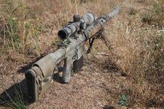 Rifle de atirador furtivo de Airsoft Fotos de Stock