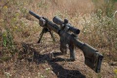 Rifle de atirador furtivo de Airsoft Fotos de Stock Royalty Free