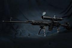 Rifle de atirador furtivo de Dragunov Imagem de Stock