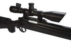 Rifle de atirador furtivo moderno da parafuso-a??o com espa?o ?tico imagem de stock