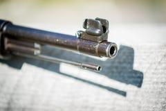 Rifle de Mauser 98 - opinião do focinho Imagem de Stock Royalty Free