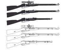 Rifle de Mosin Fotografía de archivo