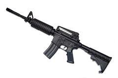 Rifle del Ejército del EE. UU. M4A1. Fotografía de archivo libre de regalías