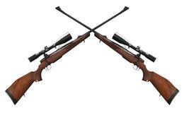 Rifle do atirador furtivo imagens de stock royalty free
