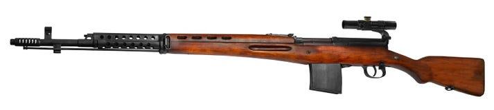 Rifle do atirador furtivo fotografia de stock