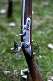 Rifle do Flintlock com Fotografia de Stock Royalty Free