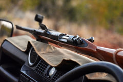 Rifle do safari Fotos de Stock Royalty Free