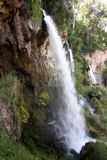 Rifle Falls State Park, Colorado stock photo