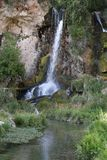Rifle Falls State Park, Colorado royalty free stock photography