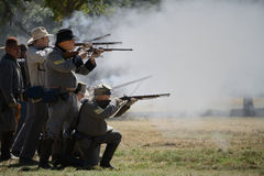 Rifle Firing Royalty Free Stock Photos