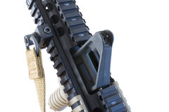 Rifle front Stock Photo