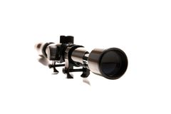 Rifle gun scope Stock Image